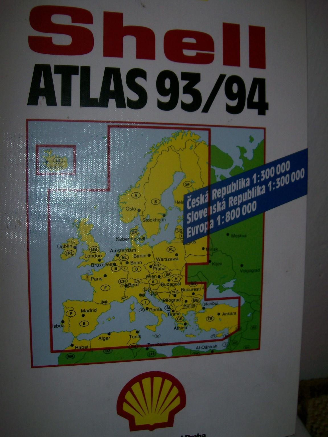 euro atlas SHELL
